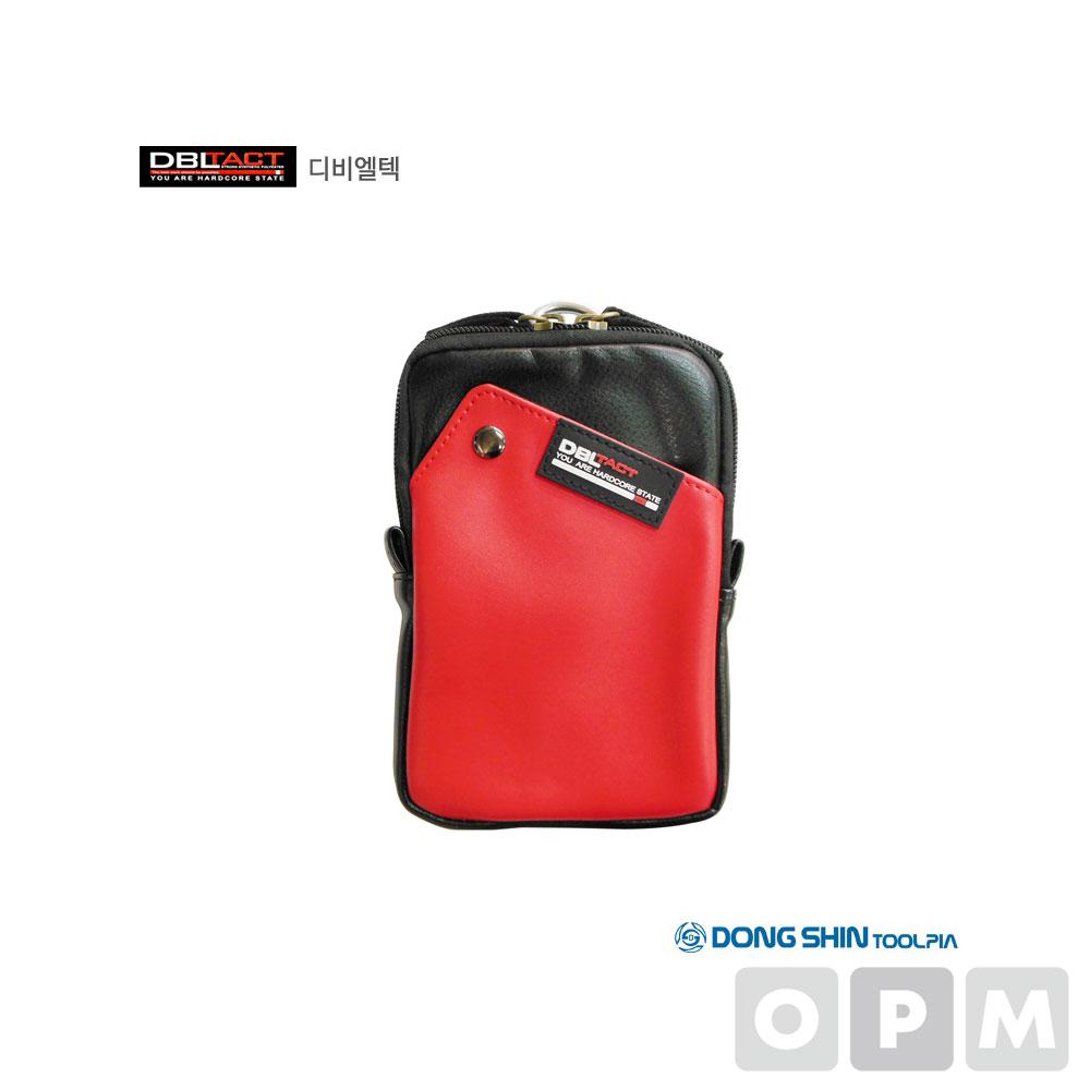 파우치 와이드 (합성피혁) MSKW-RE / 빨강 170x130x23
