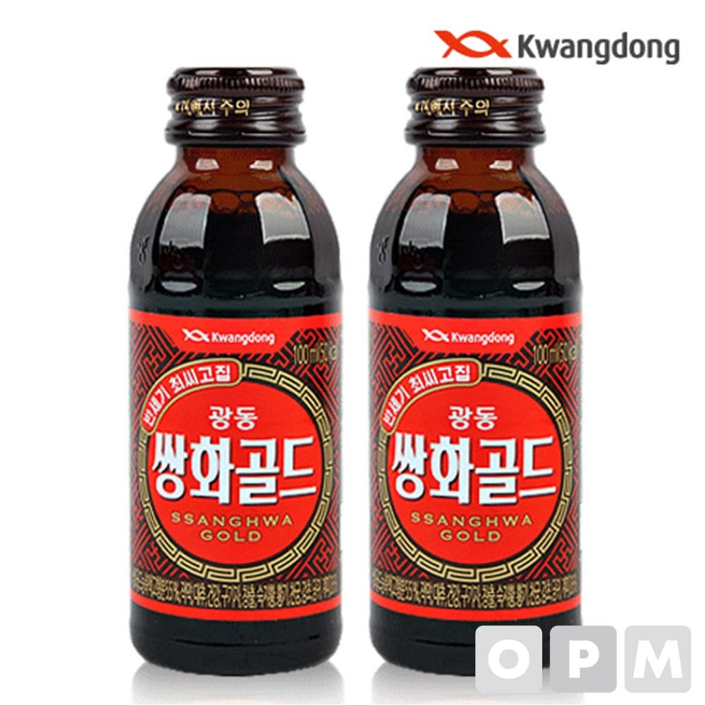 음료수 ( 광동/쌍화골드/100ml ) 주문단위 100개