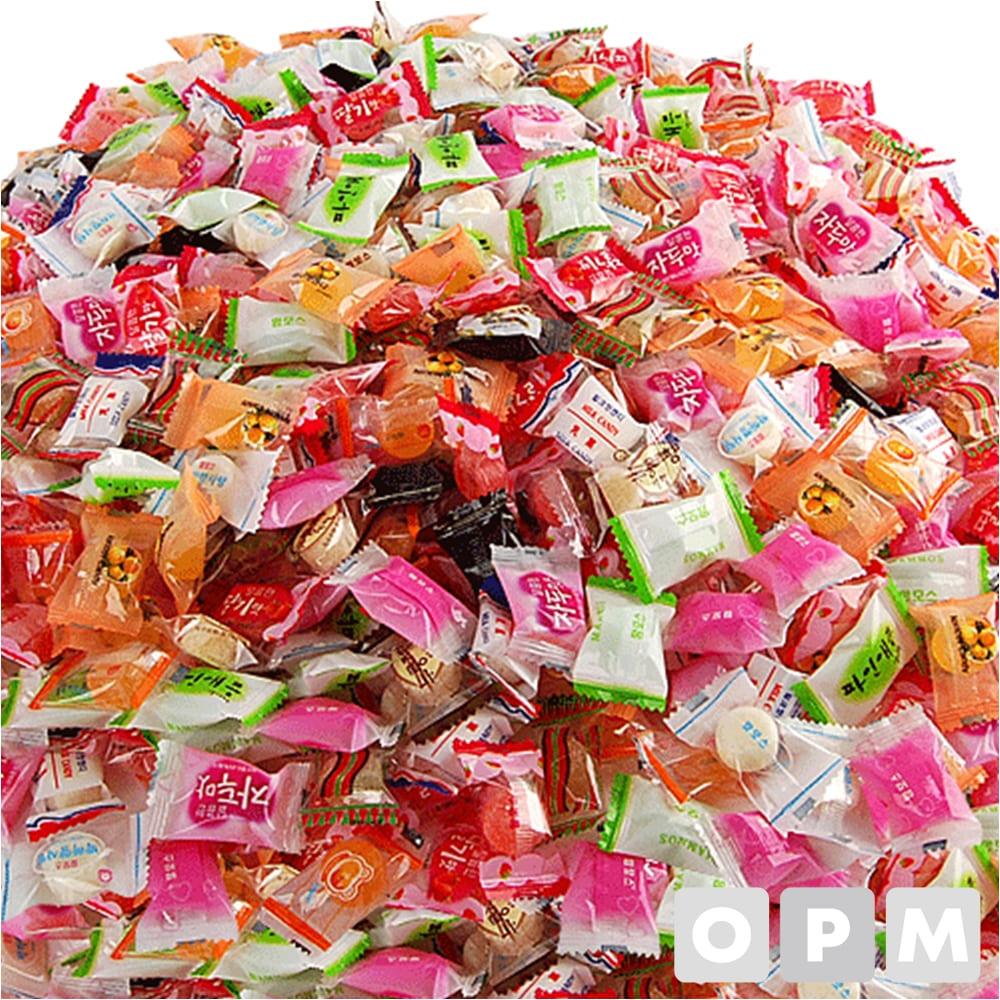 사탕 ( 종합캔디/2.4kg ) 주문단위 4개