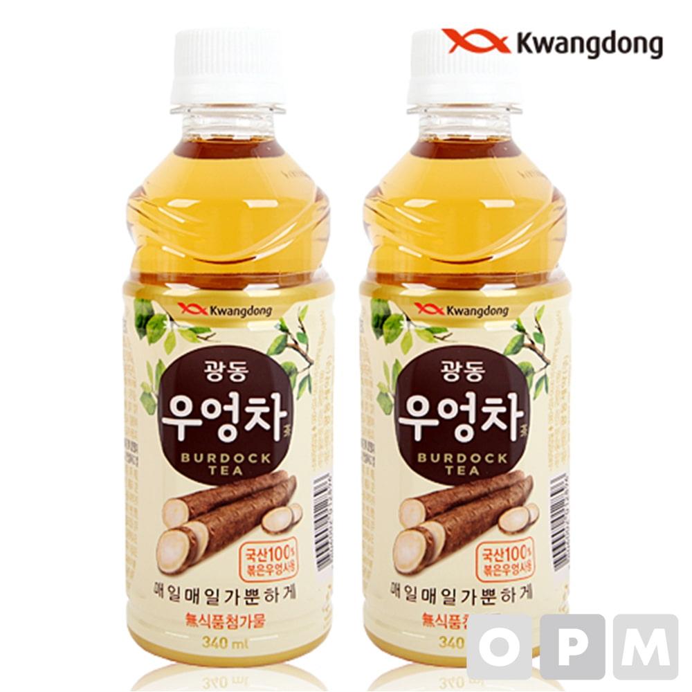 음료수 ( 광동/우엉차/340ml ) 주문단위 40개