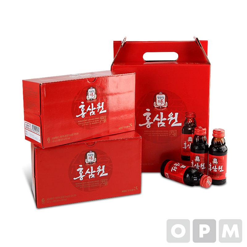 [별매품] 정관장 홍삼원 선물용 손잡이 박스 5개
