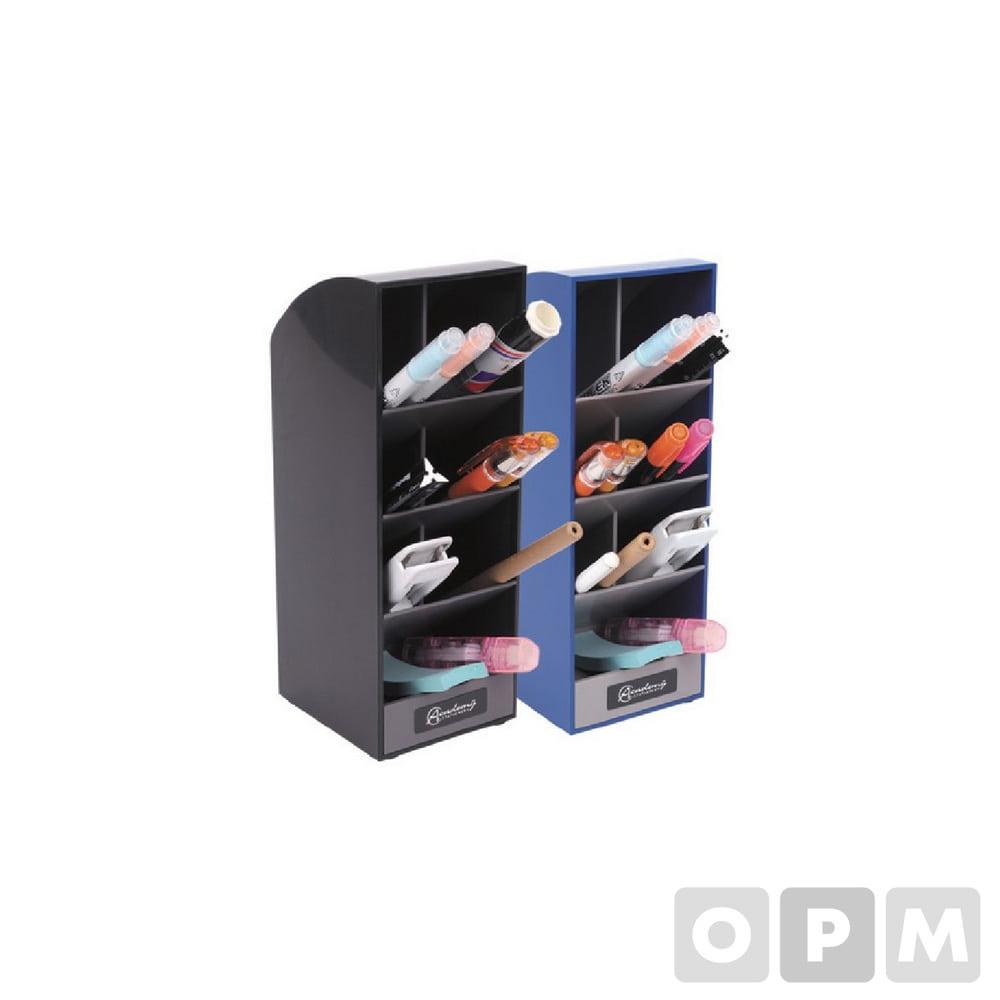 아카데미 펜꽂이 MW-626 흑색(스텐드형, 77x85x210mm)