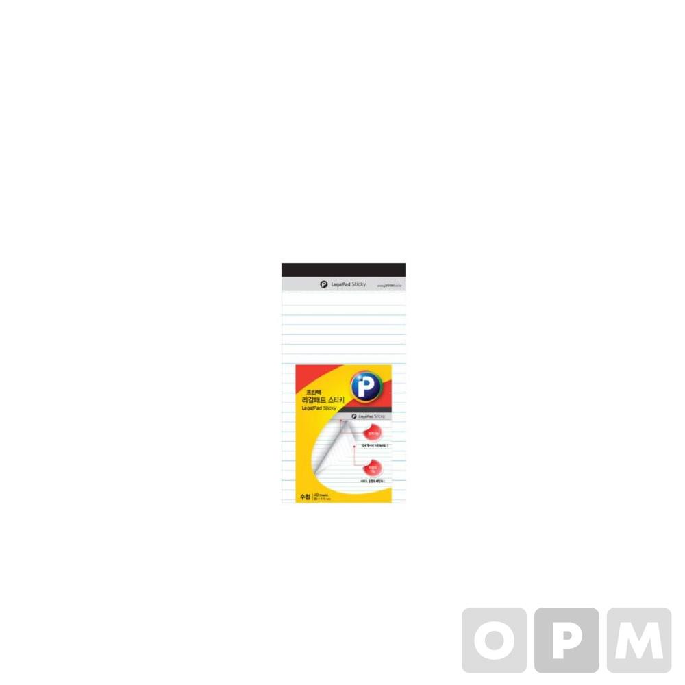 프린텍 리갈패드 LP89W 백색 / 89*173mm, 40매