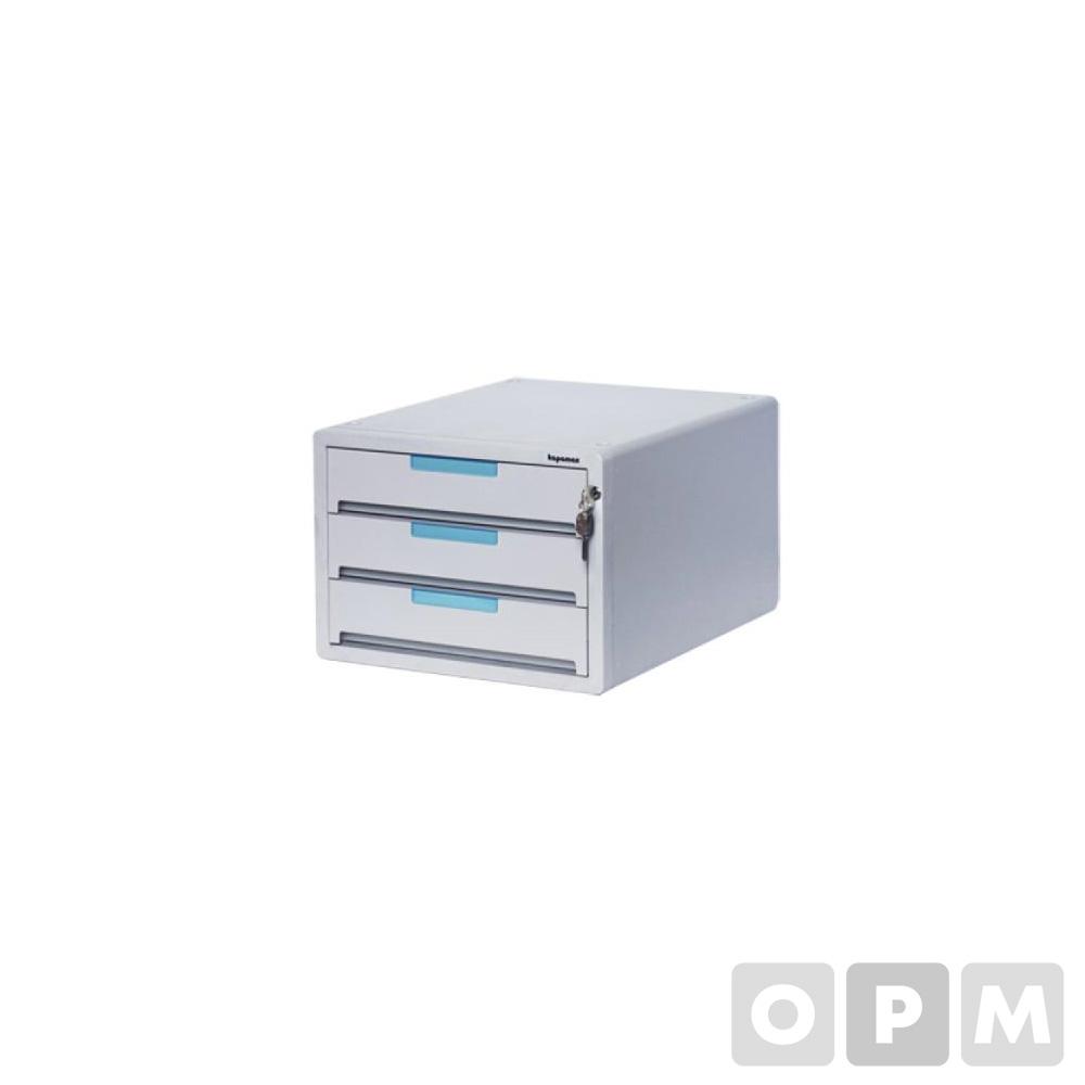 카파맥스 프라노-2 3단 키서류함(299x359x214)