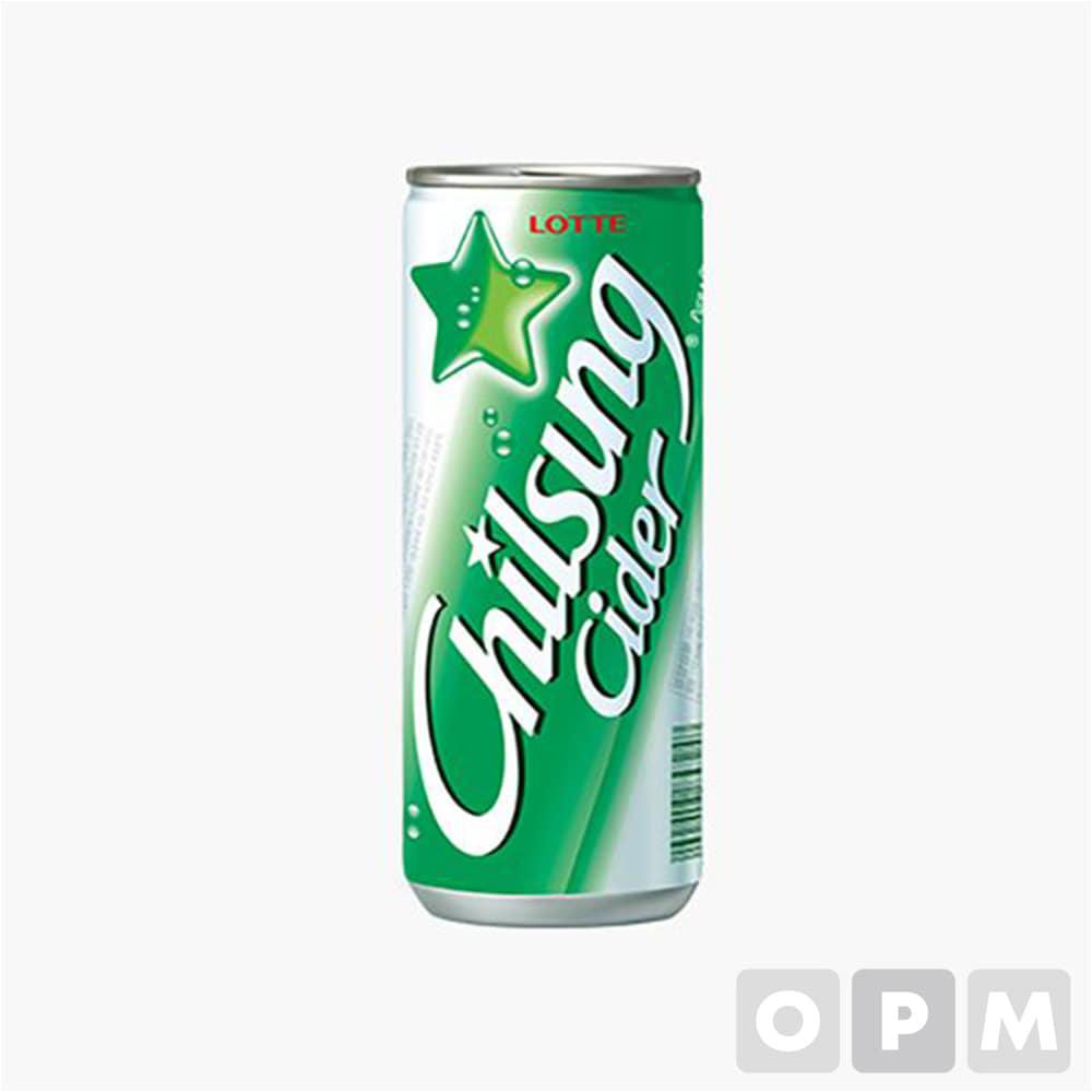 롯데 칠성사이다(250ML캔) 음료 250ml×30개/BOX