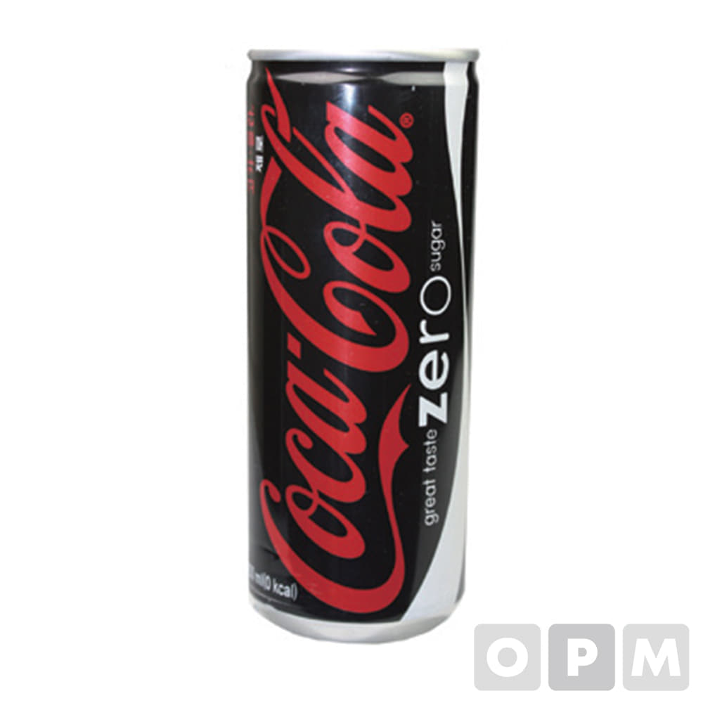 코카콜라제로(250ML캔) 250ml×30개/BOX
