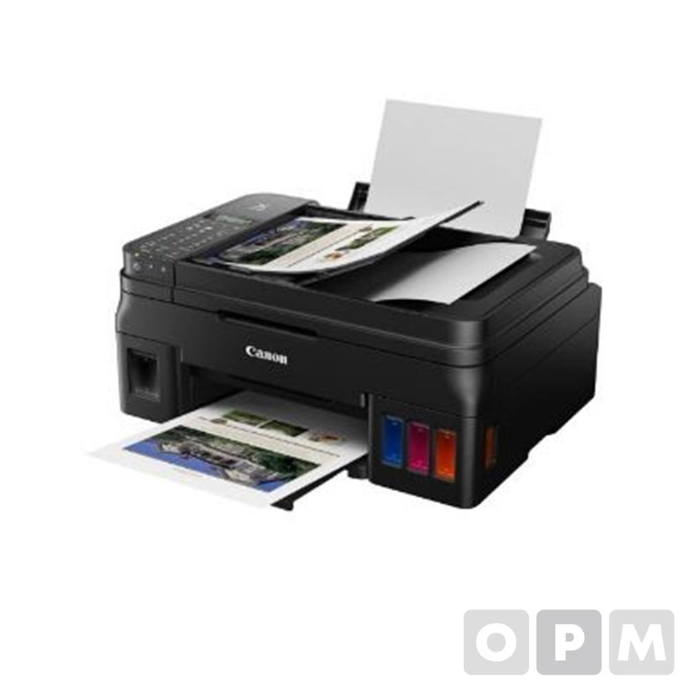 무한 잉크젯 PIXMA G4910 프린터 팩스스캔WiFi 1EA