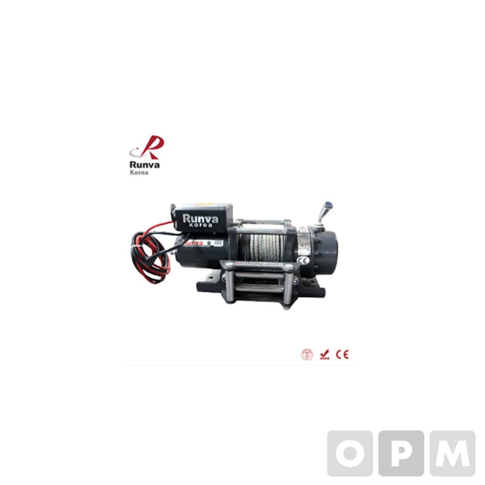 런바 차량용 DC 윈치 RKEX-5000U 24V
