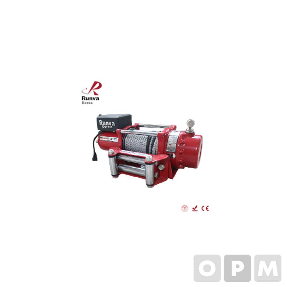 런바 차량용 DC 윈치 12V/24V RKEX-6000U
