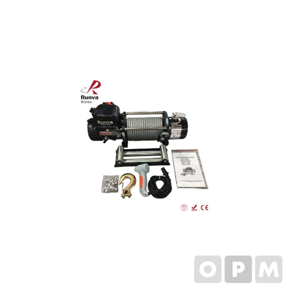 런바 차량용 DC 윈치 12V/24V RKEX-12500U