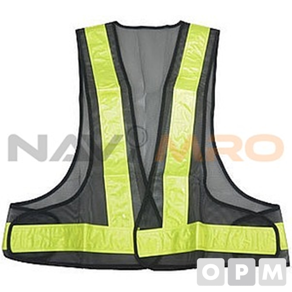 안전 조끼 KF-019-B/1벌 재질:베스트 반사 테이프 : 폴리 에스테르 100 %/사양:매직 테이프 부착/질량(g):105/테이프 폭(mm):50 (반사 테이프)/총길이(cm):약 55 사이즈:free 사이즈/색상:검정색/