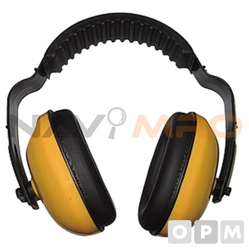 방음 귀덮개 HF601-1/1EA 노랑/차음율(NRR):21/중량(g):173/