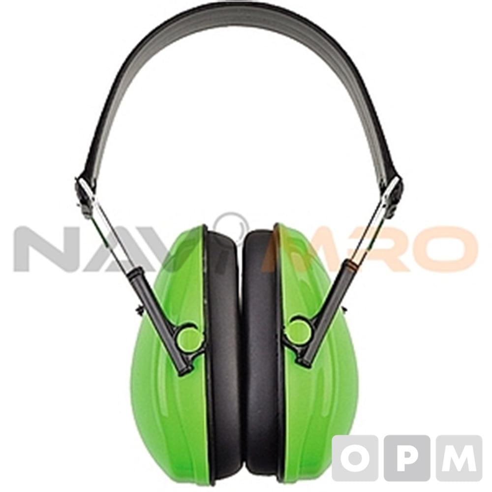 방음 귀덮개 HF602-1/1EA 연두/차음율(NRR):21/중량(g):170/