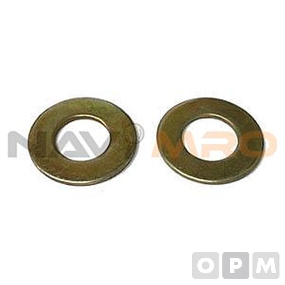 철 평와샤 (M4-M16) /1PK(100EA)/규격(mm) M 16/내경(mm) 17