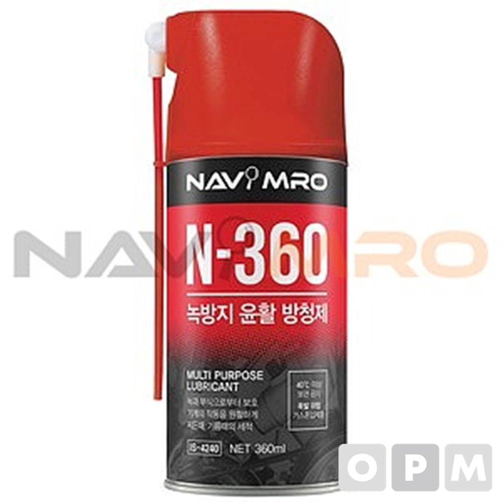 윤활 방청제 (N-360) N-360/1BOX(30EA) 용량(ml):360/