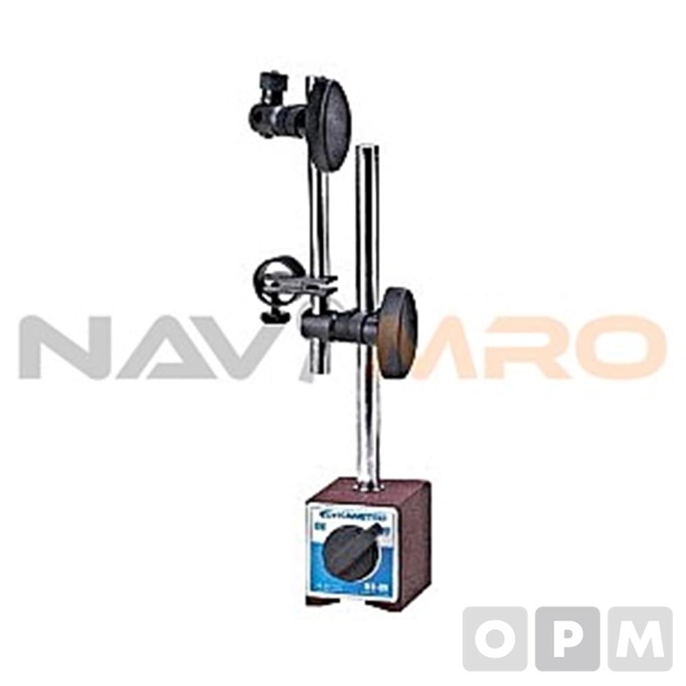 마그네틱 베이스 (MB-BV) MB-BV(미세조절)/1EA 흡착력(kgf):80/ 베이스 규격(mm):50×58×55/