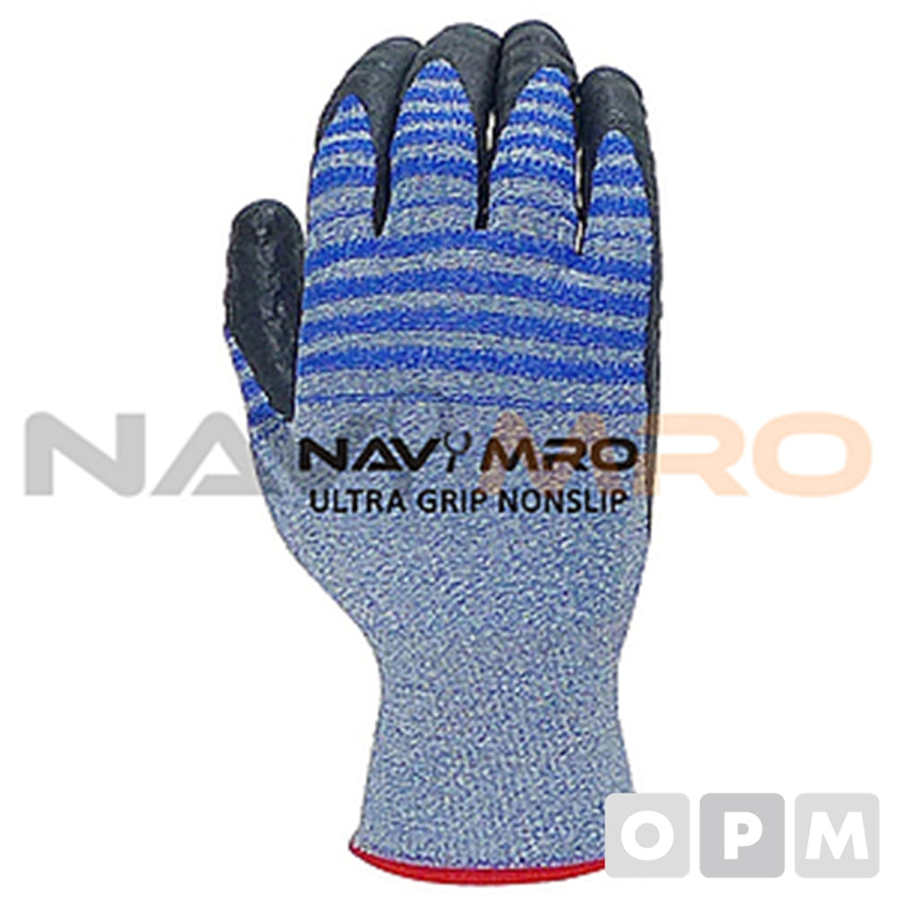 NBR 폼 코팅 장갑 (Ultra Grip NONSLIP) 울트라그립 논슬립/1PK(10켤레)/사이즈 M/색상 파랑