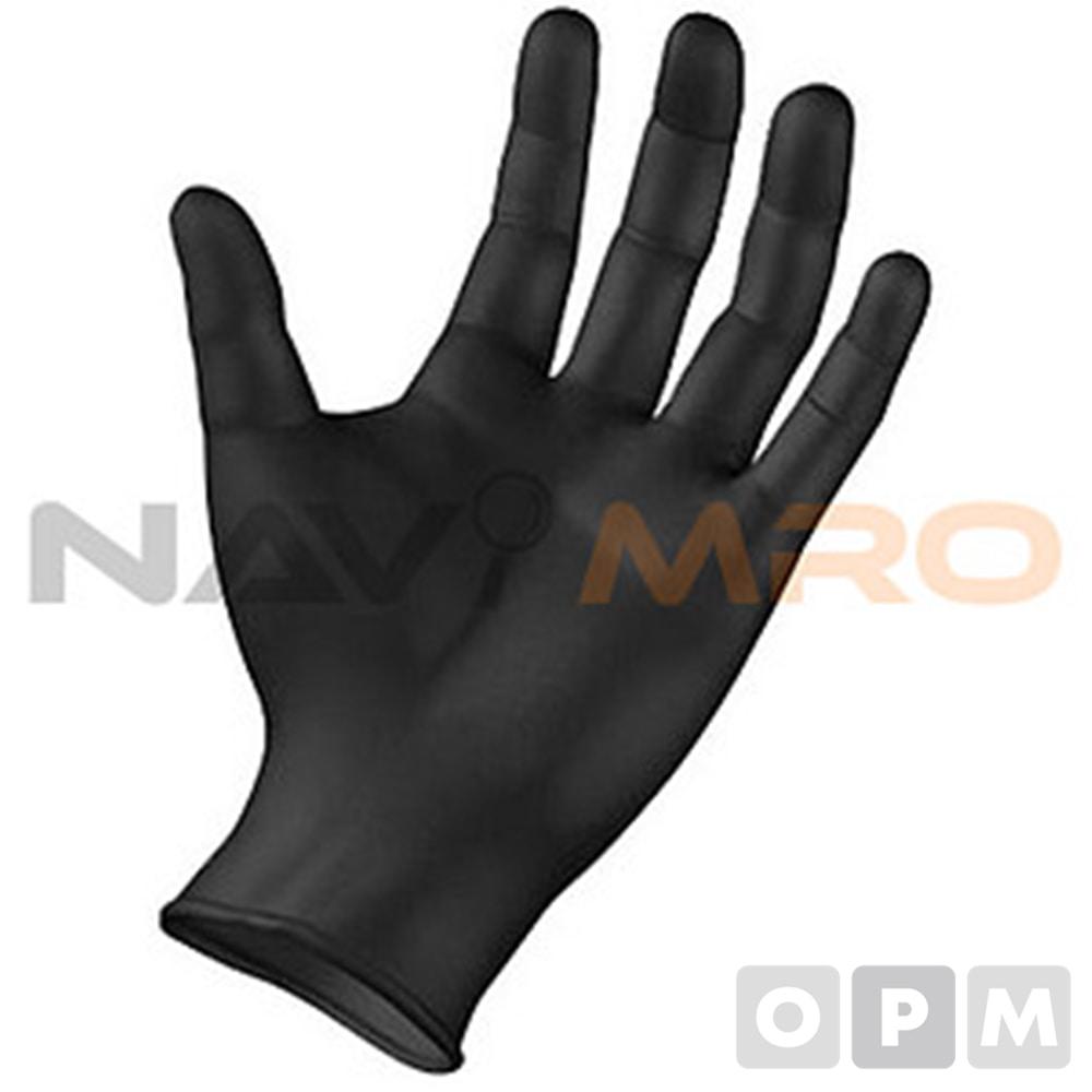 니트릴 장갑 1BOX(100매)S/ 블랙/전장(mm) 240