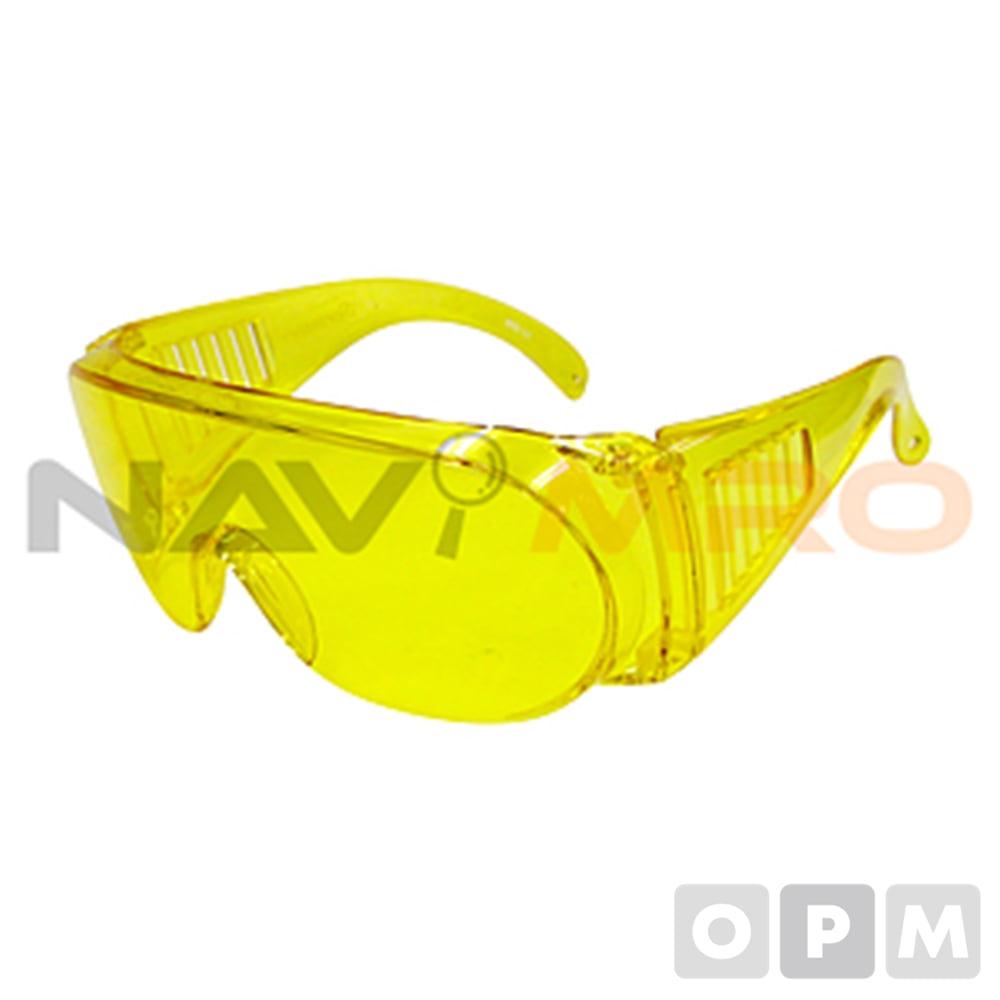 안전 안경 (VS160 yellow) 9156W(Y)/1EA 색상:노란색/