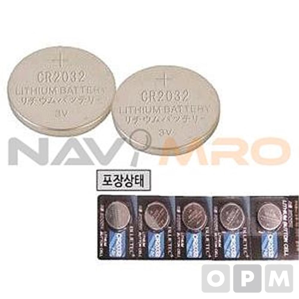 리튬 버튼셀(CR) CR2025/1PK(5EA) 전압(V):3/타입:CR2025/