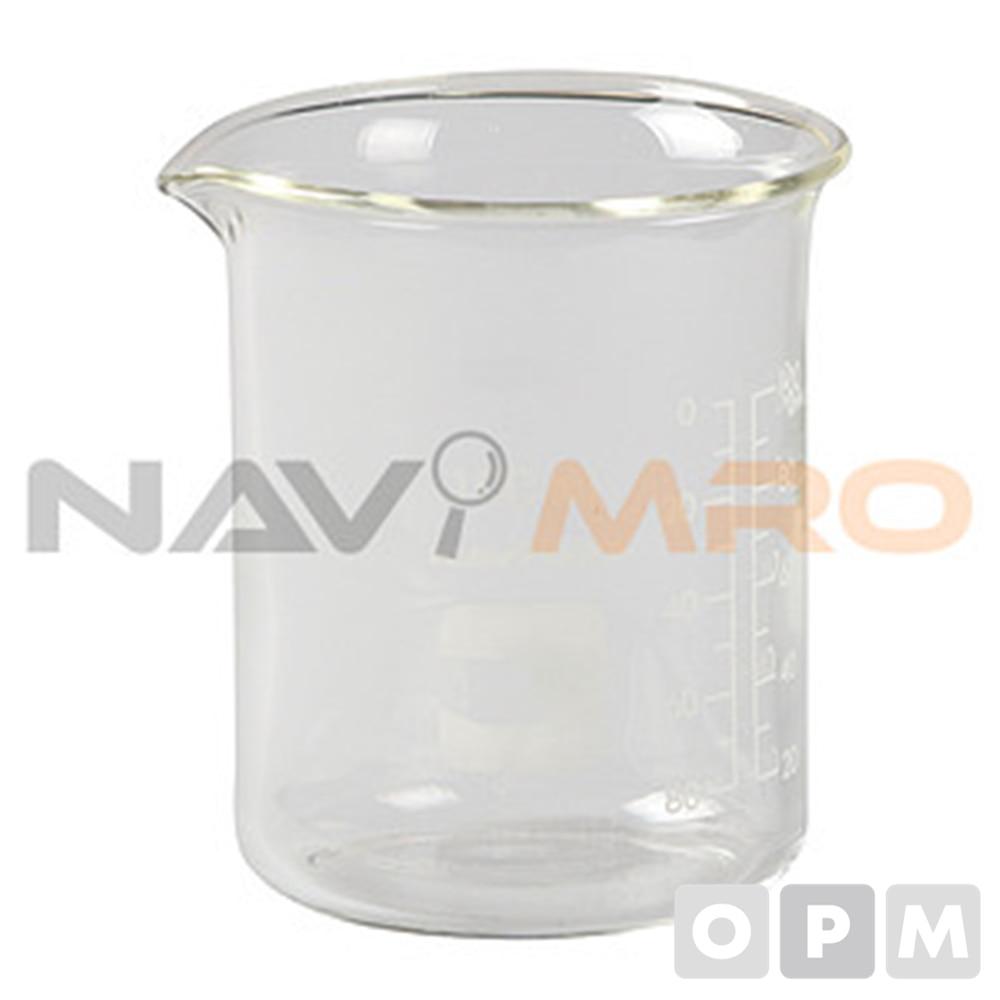유리 비이커 (국산 2급) /1BOX(15EA)/용량(ml) 500/규격(Ø×mm) 90×120