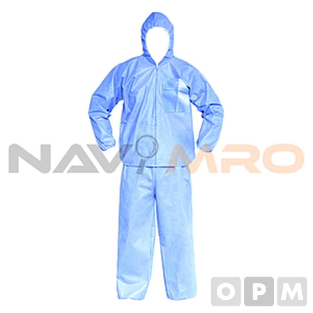 투피스 보호복 (CS) CS/1BOX(24벌) 사이즈:2XL/색상:하늘색/
