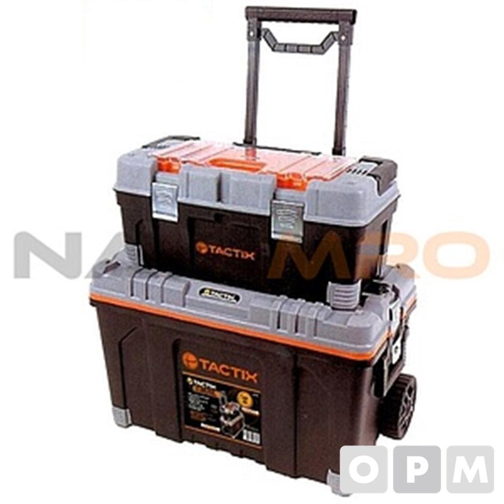 시스템2단박스캐리어 320308/1EA 규격(가로×세로×높이mm):640 X 400 X 445/ 중량(kg):10.5/