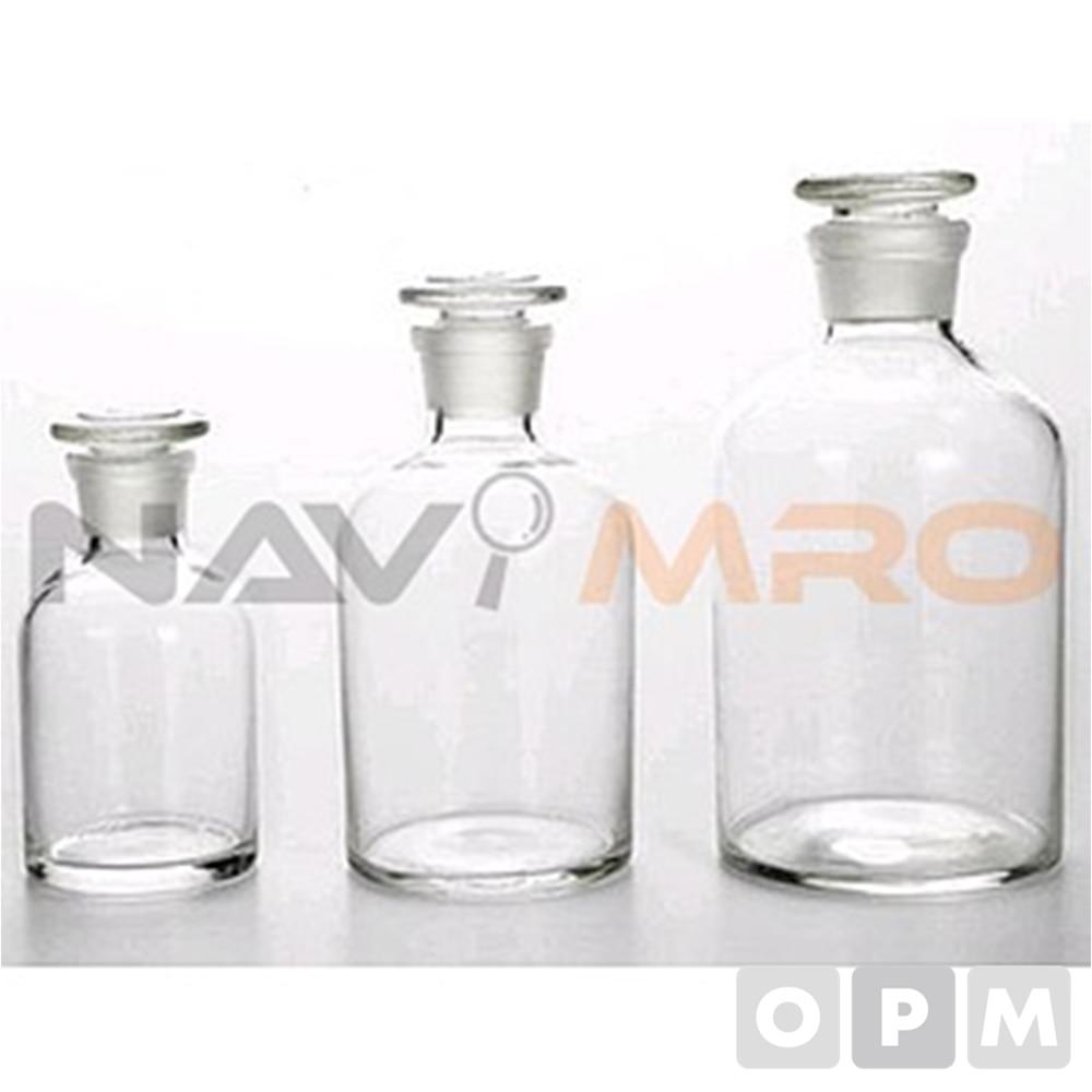 유리 투명 세구 시약병 BT-1010-1000/1BOX(6EA) 용량(ml):1000/Neck(Ømm):31/ 규격(Ø×mm):105x196/
