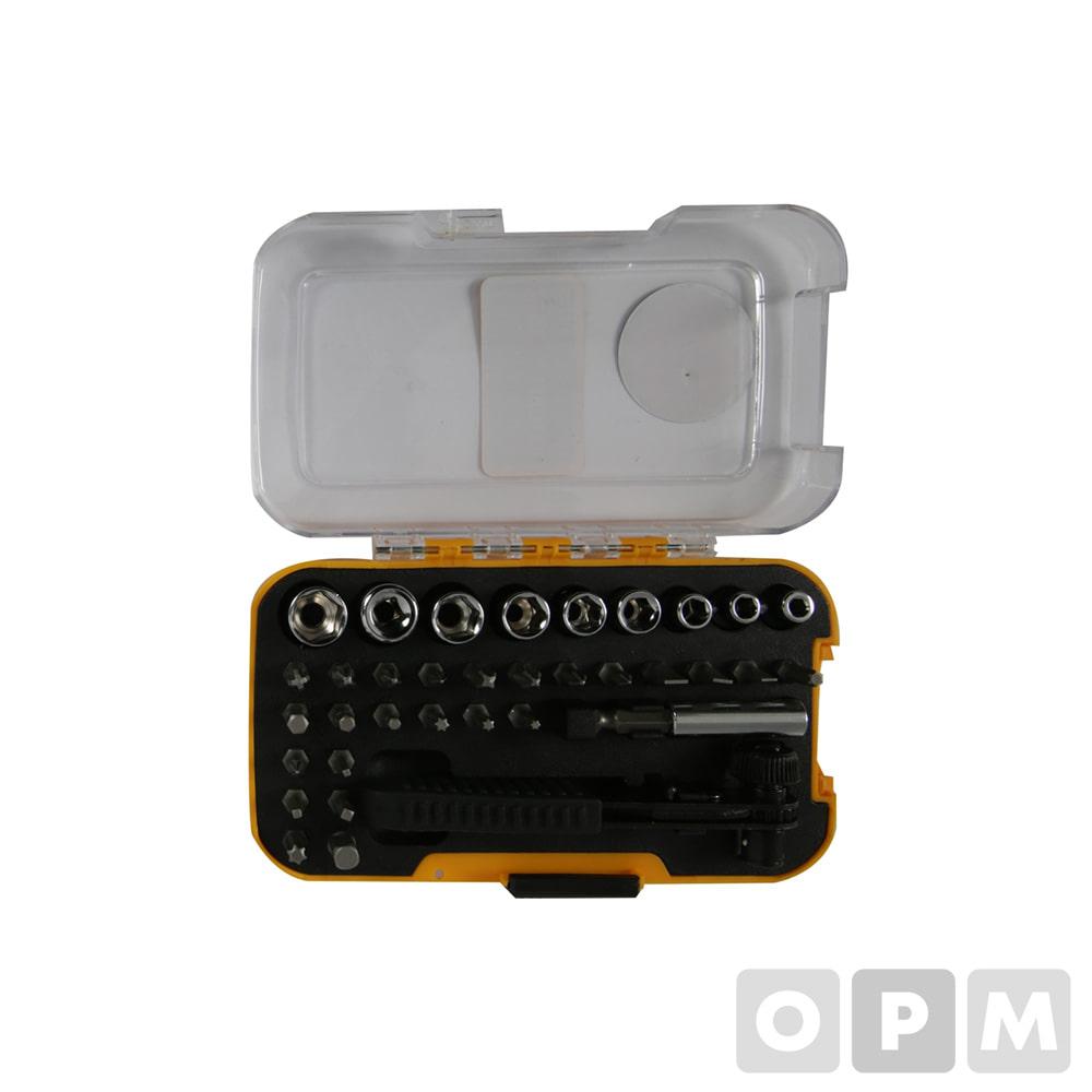 멀티드라이버세트-35pcs/ B-RS35/ 35pcs