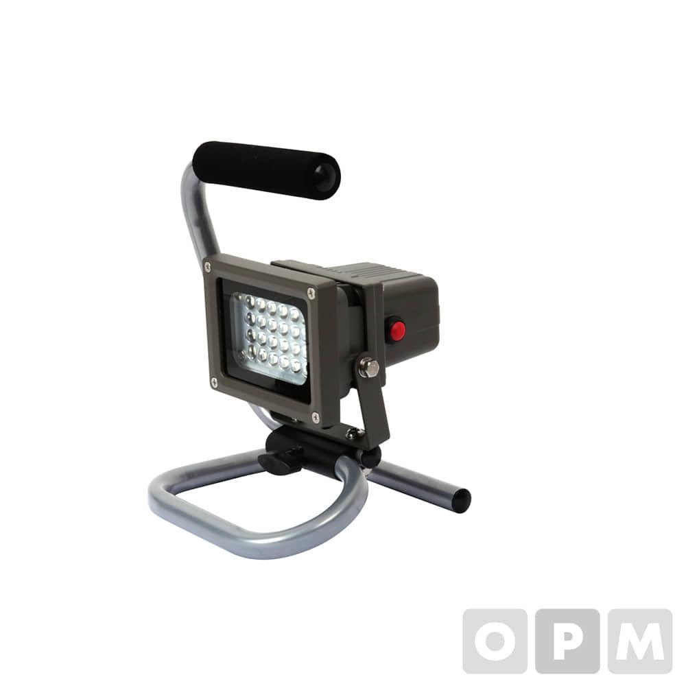투광기/ LED충전10W/ B-1000L/ 24구, 250x180x160mm