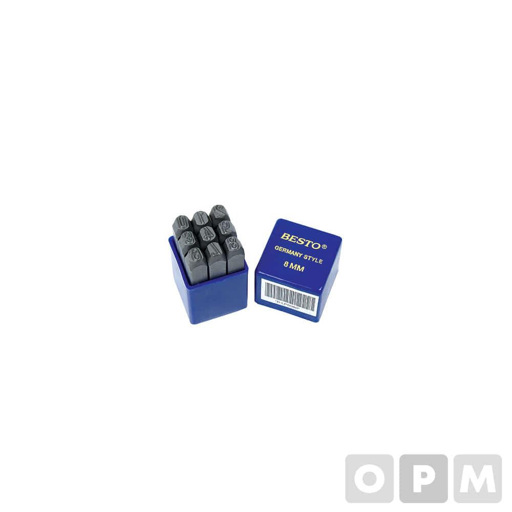 숫자펀치세트/ B-LPS040/ 4.0mm(9PCS)
