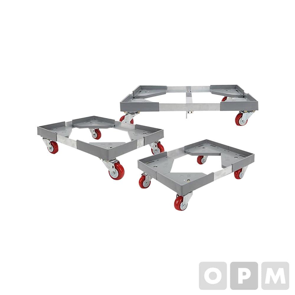 알루미늄 앵글달리/ 550x450x150 / 경량형 3인치 바퀴 하중도 100KG