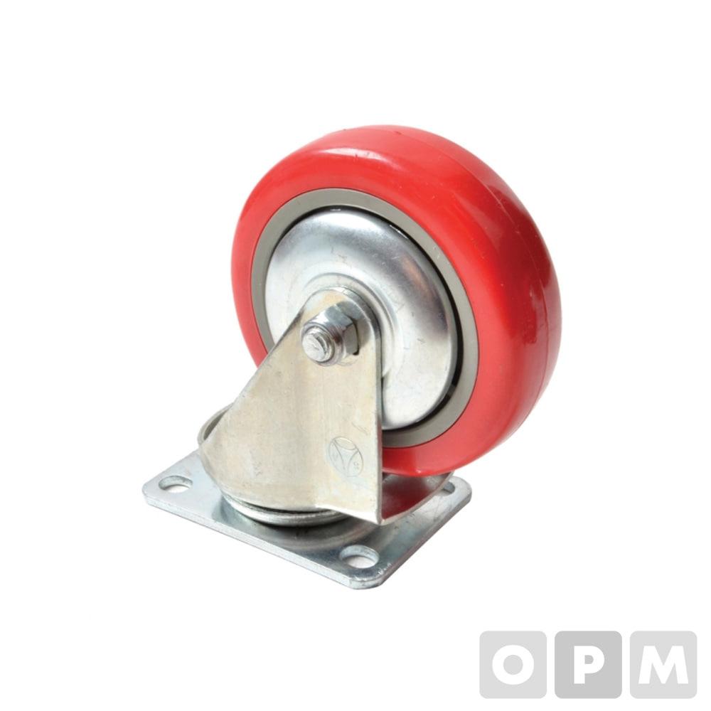 캐스터P4S(국산)회전경량캐스터 4인치회전