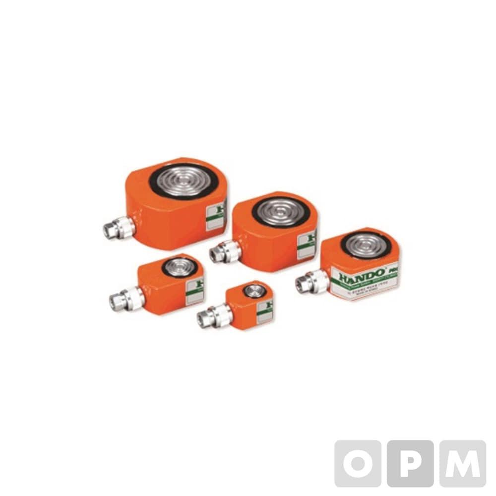 유압작기/ 납작실린더-2a/ HSLC-5016/ 50ton-16st