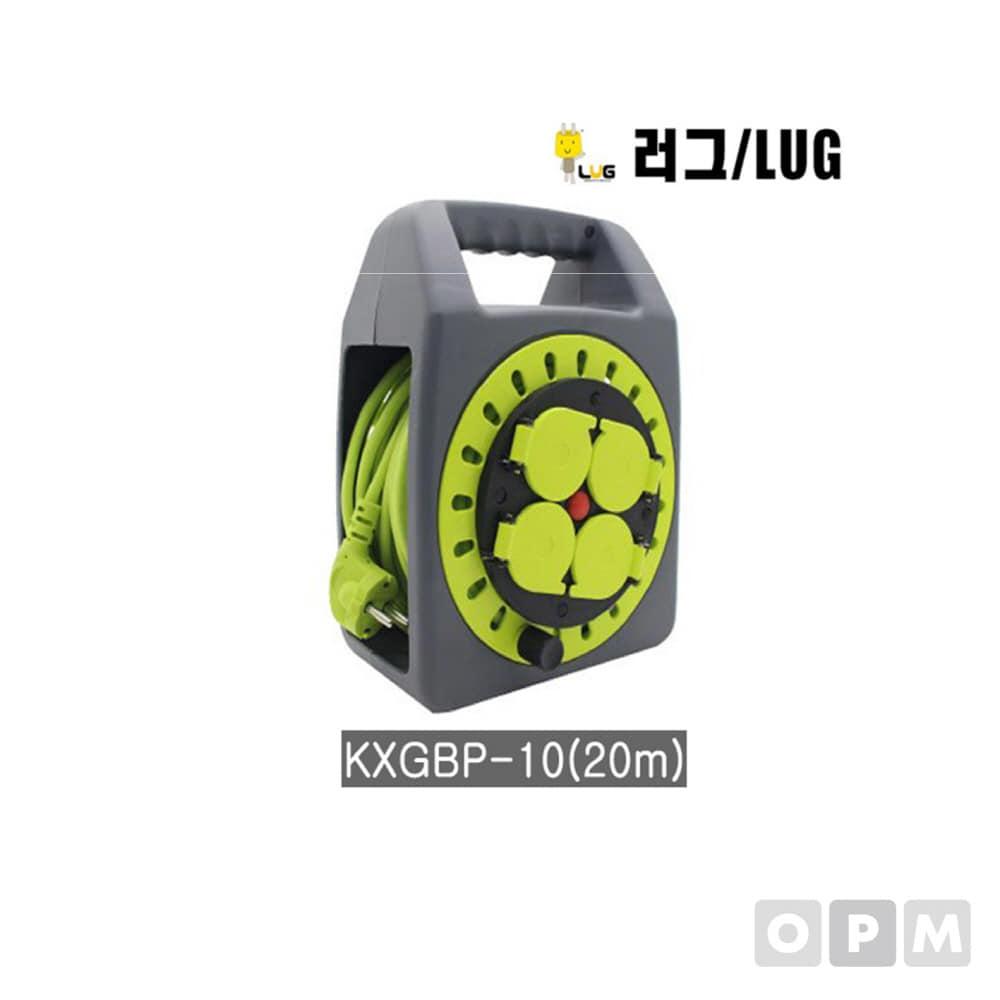 러그 4구 멀티코드 전선릴 KXGBP-10 20M