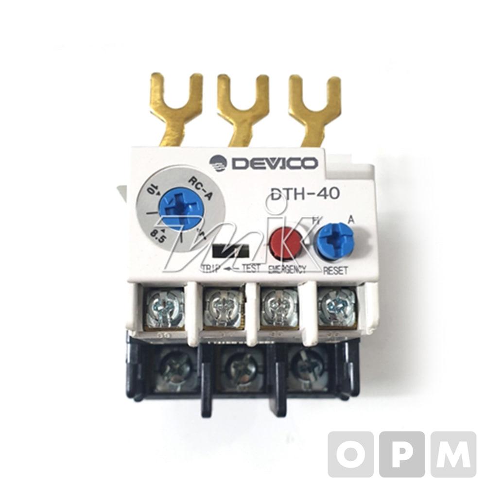 열동형계전기(DTH40) 34/42/50A