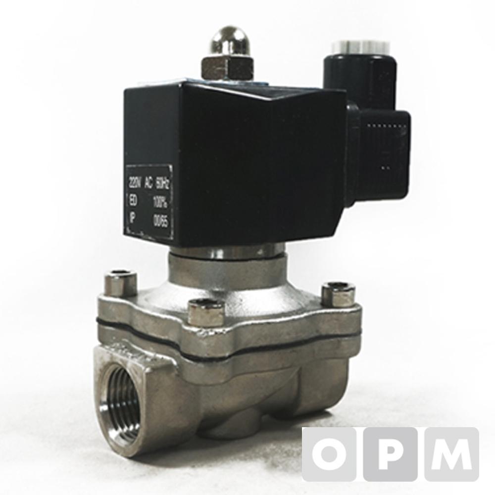 효신 솔레노이드밸브스텐HPW 50A / AC 220V