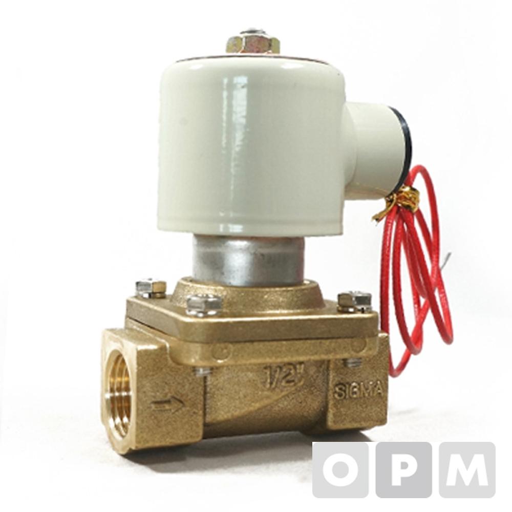 효신 솔레노이드밸브스팀용HPS 50A / AC 220V