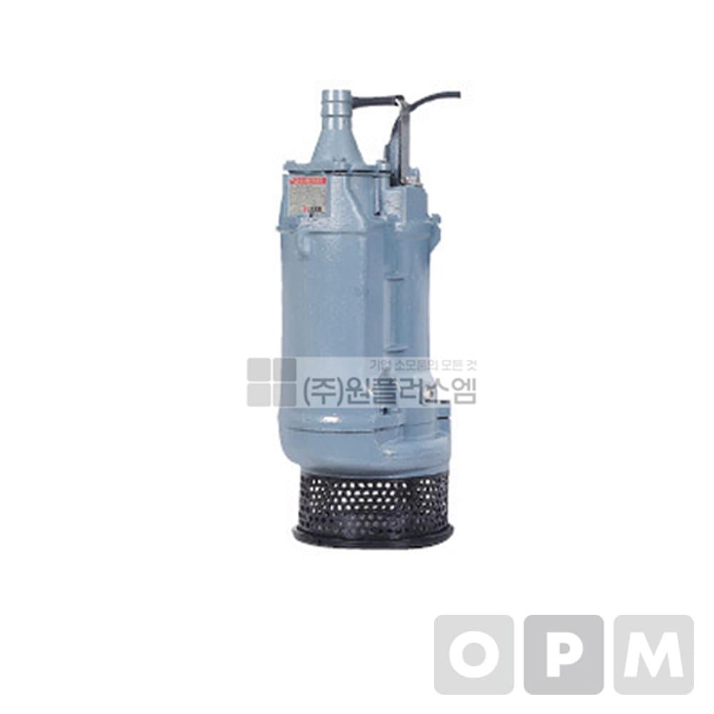윌로수중펌프 PDU-550 IHF 7.5마력 토출경:80mm 25M플랜지타입
