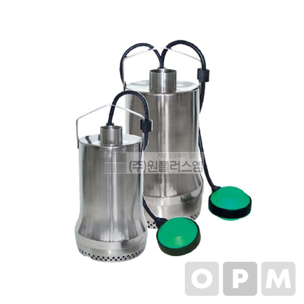 윌로펌프 TS32/10A (자동) 단상220V 32mm (윌로수중펌프)