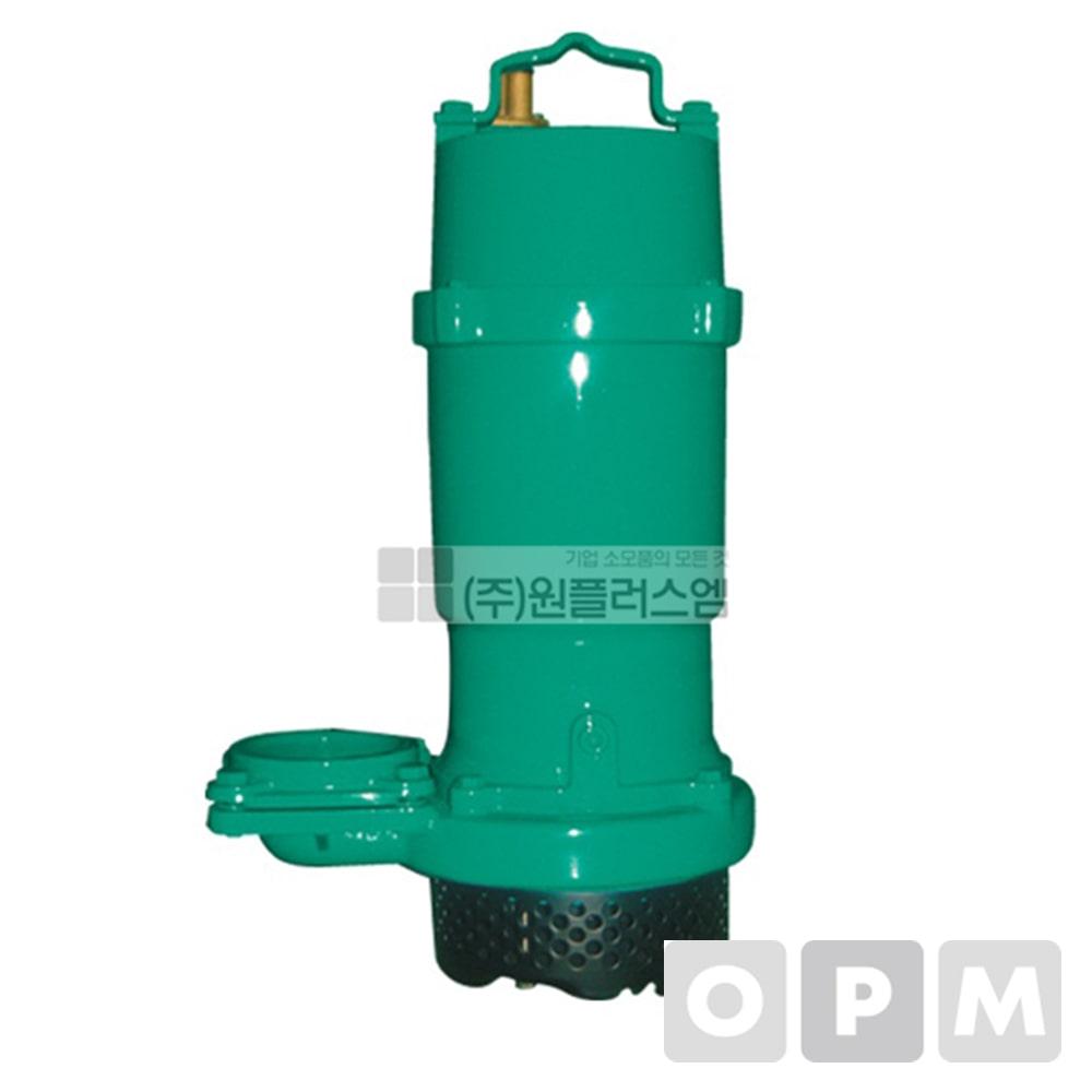 윌로펌프PD-1500M(수동)2마력3인치단상220V최대양정21m(윌로수중펌프)/