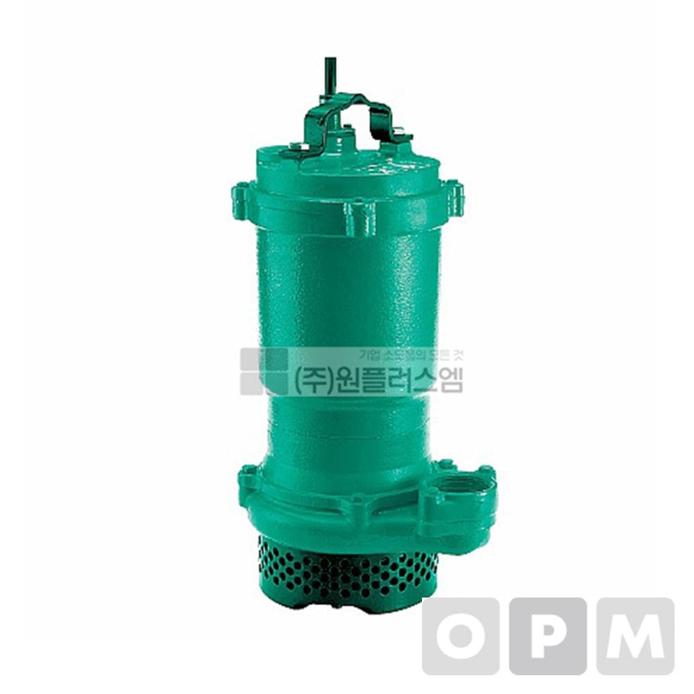 윌로펌프 PD-2200I 3마력 양정21m 토출구3인치 삼상380V 윌로수중펌프/ 적용착탈장치 AD-65 / AD-80