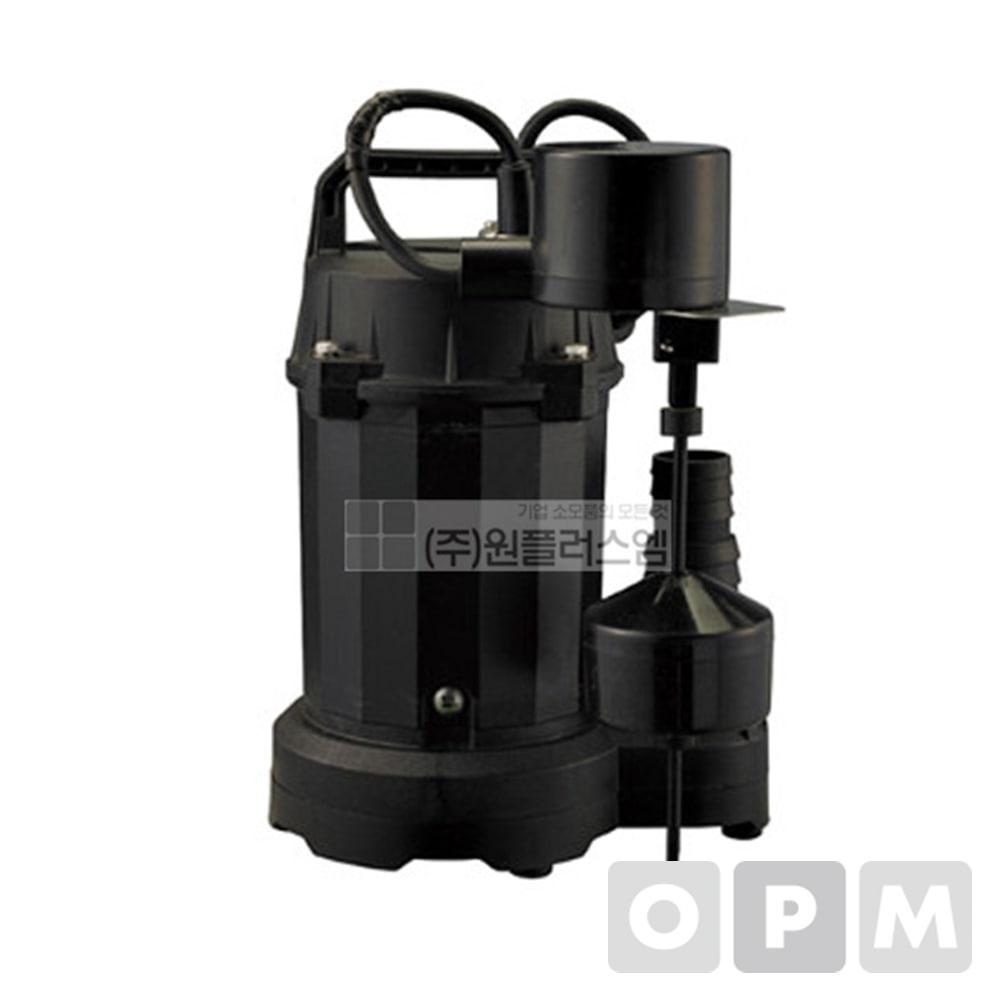 IP-317-FL 1/3HP 1P 220V 32/38호스 청수용 자동수중펌프 / 한일펌프 / 한일수중펌프 /일반나선호스 38mm 단위 1m / 스텐호스밴드 38mm