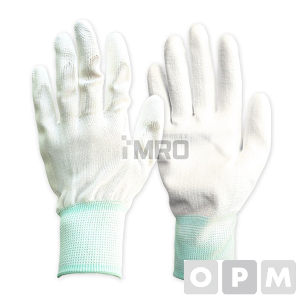 PU-PALM 코팅장갑 흰색 10켤레 L (10ea)