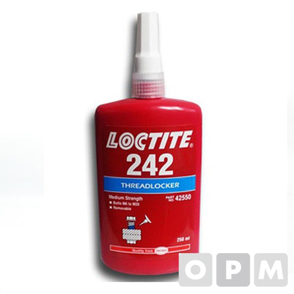 [사업자확인] 록타이트 242 250ml