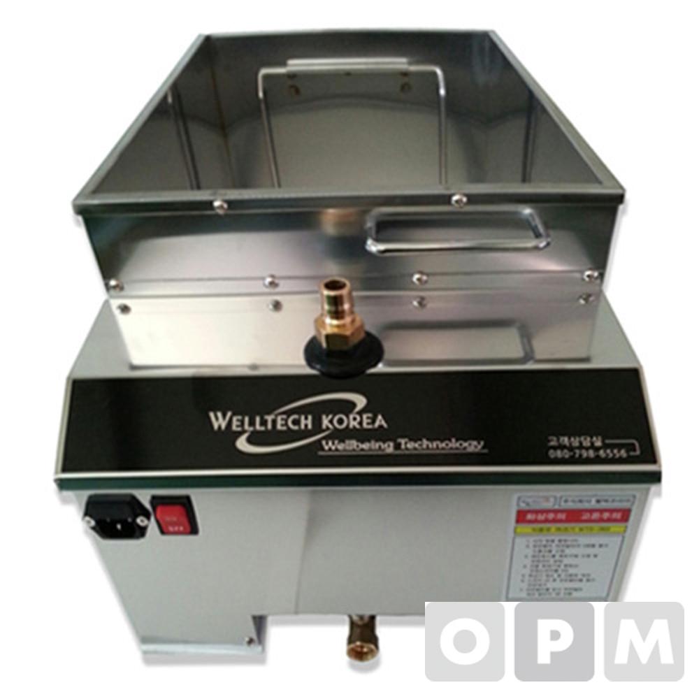웰텍코리아 식용유정제기 wts-490 (종이필터 50장 포함)