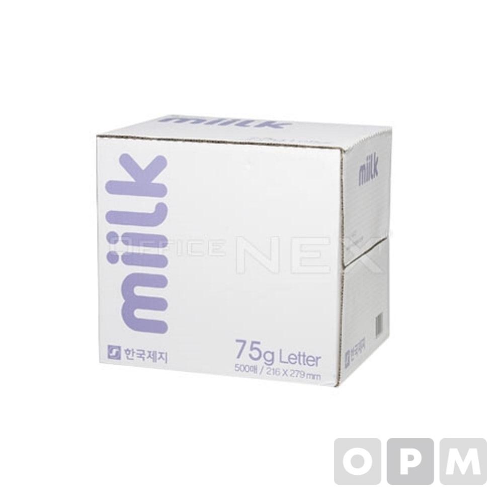 복사용지 레터(75g/500매X5권/BOX/한국제지)