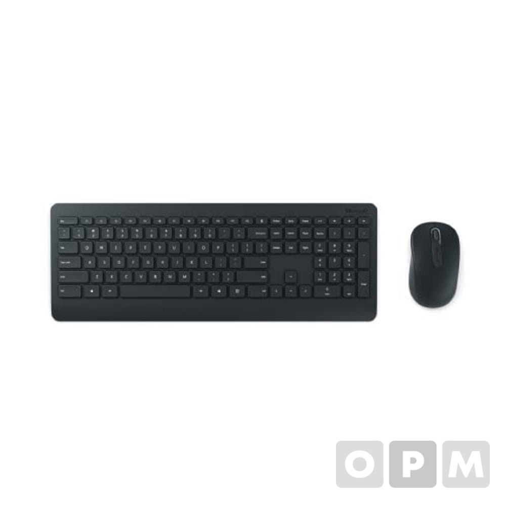 MS 무선키보드마우스세트 900 / USB포트