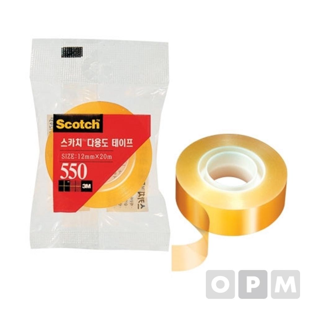 3M 스카치다용도테이프리필 550(12mmx20M)