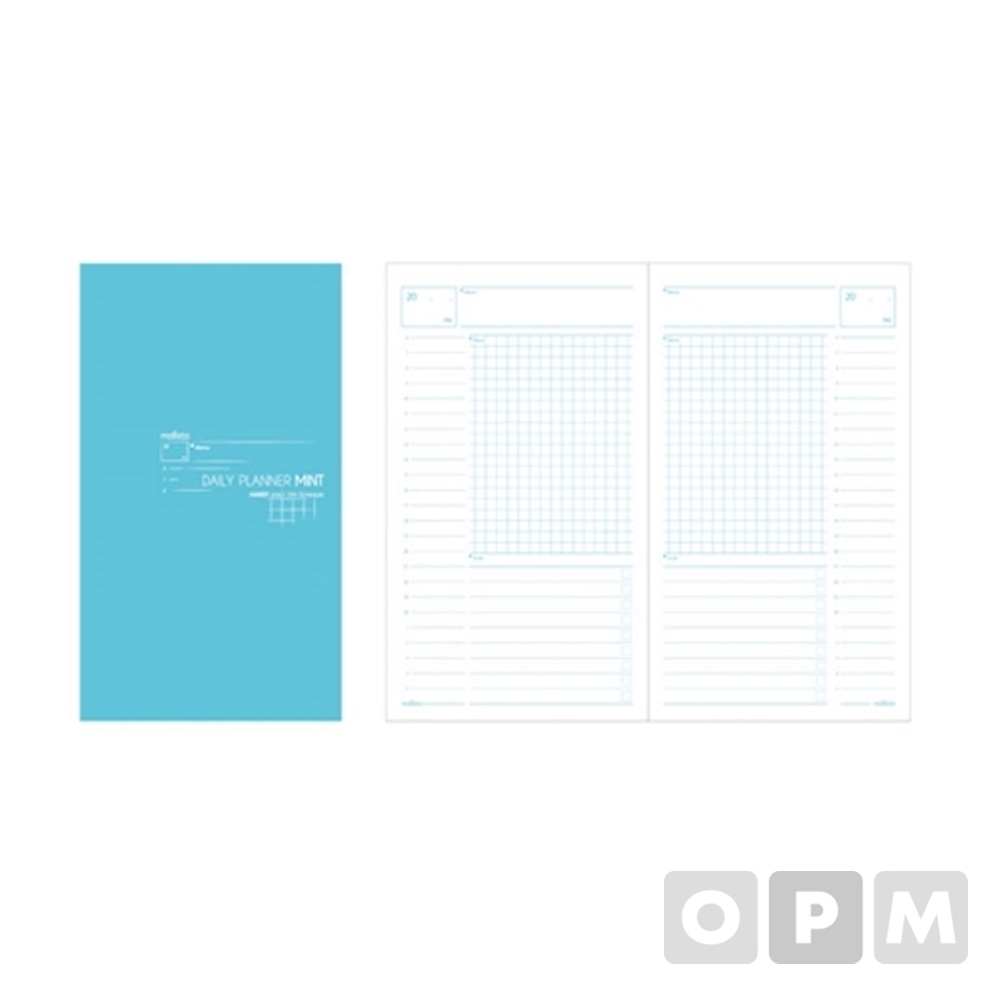 펑션노트북 (A5/민트데일리/120x210mm/말리스타)